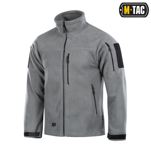 M-TAC КУРТКА ALPHA MICROFLEECE LIGHT LIGHT GREY