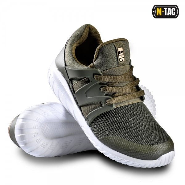 M-TAC КРОССОВКИ TRAINER PRO OLIVE/WHITE