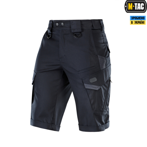M-TAC ШОРТЫ AGGRESSOR GEN.II FLEX DARK NAVY BLUE