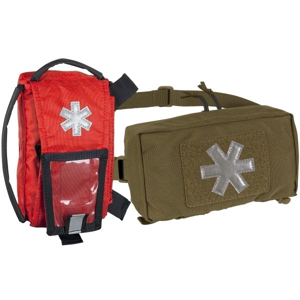 HELIKON-TEX МЕДИЦИНСКИЙ ПОДСУМОК MODULAR INDIVIDUAL MED KIT POUCH CORDURA COYOTE H8138-11