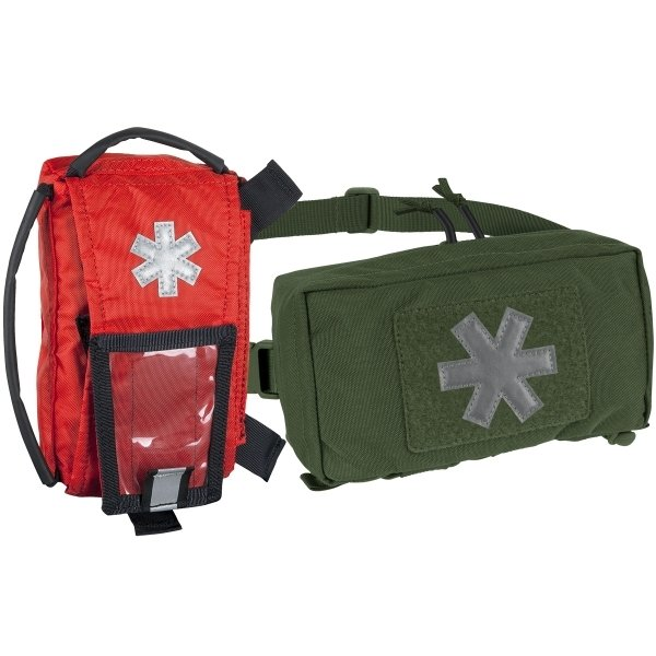 HELIKON-TEX МЕДИЦИНСКИЙ ПОДСУМОК MODULAR INDIVIDUAL MED KIT POUCH CORDURA OLIVE GREEN H8138-02