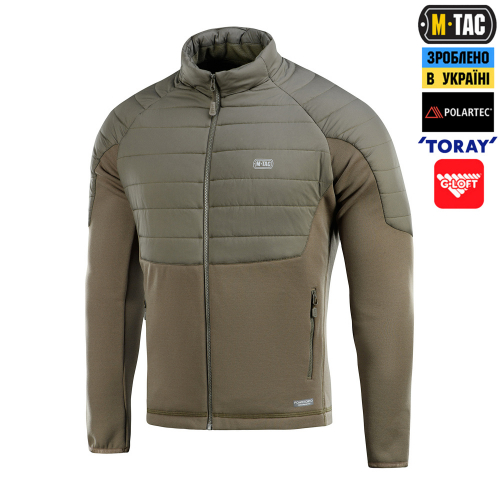 M-TAC КОФТА BERSERK FLEECE OLIVE
