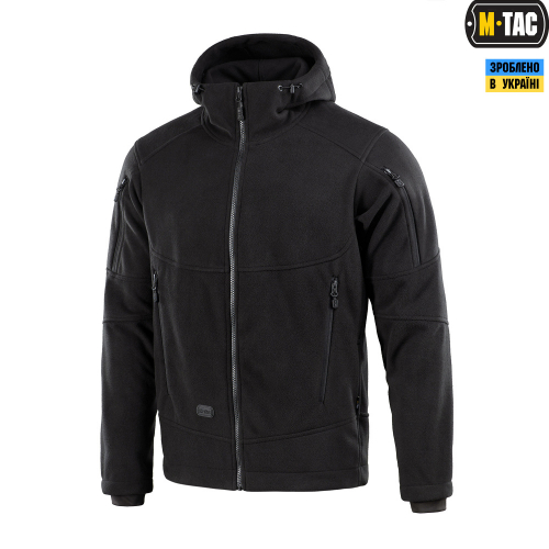 M-TAC КОФТА RIDER WINDBLOCK FLEECE BLACK