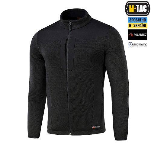 M-TAC КОФТА SENATOR FLEECE BLACK