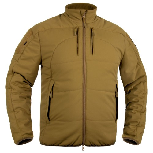P1G-TAC КУРТКА ДЕМИСЕЗОННАЯ CALIDUM POLARTEC POWER FILL MIL-SPEC COYOTE BROWN UA281-91009-CB