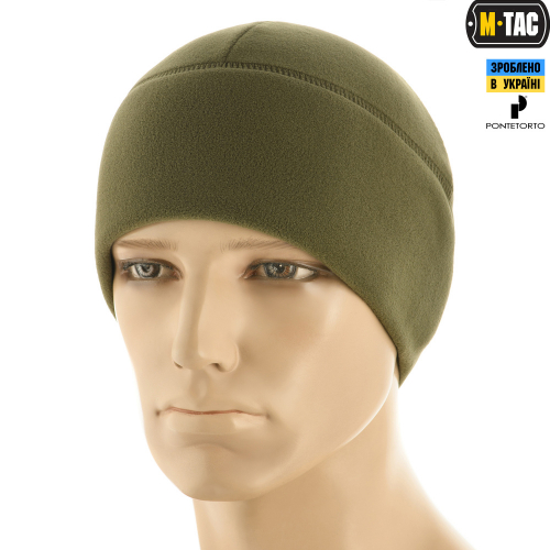 M-TAC ШАПКА WATCH CAP PREMIUM ФЛИС (225Г/М2) LIGHT OLIVE