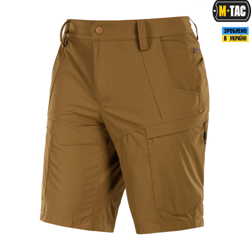 M-TAC ШОРТЫ SAHARA FLEX COYOTE BROWN