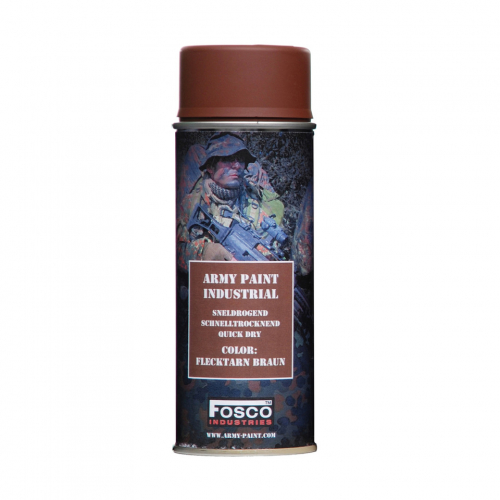 FOSCO PAINT SPRAY ARMY PAINT FLECKTARN BRAUN 400 ML.