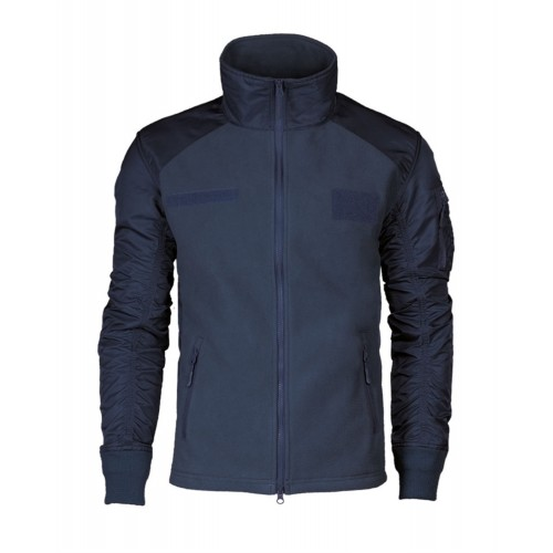 МИЛТЕК КУРТКА ФЛИСОВАЯ USAF JACKET DARK BLUE 10430003