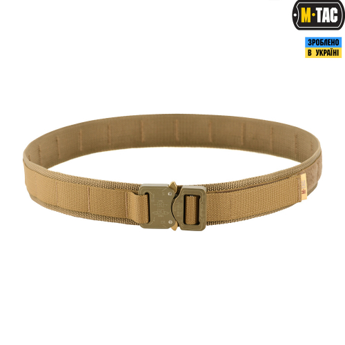 M-TAC РЕМЕНЬ COBRA BUCKLE TACTICAL BELT COYOTE