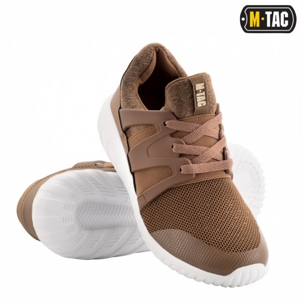 M-TAC КРОССОВКИ TRAINER PRO COYOTE/WHITE