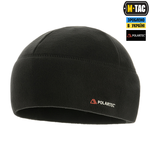 M-TAC ШАПКА WATCH CAP ФЛИС LIGHT POLAR BLACK