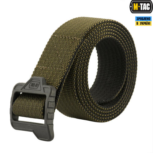 M-TAC РЕМЕНЬ DOUBLE SIDED LITE TACTICAL BELT OLIVE/BLACK