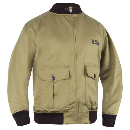 P1G-TAC КУРТКА-БОМБЕР USN-37J1 PILOT JACKET BUSH BROWN UA281-299608-BB