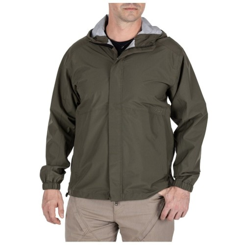 5.11 КУРТКА ШТОРМОВАЯ DUTY RAIN SHELL RANGER GREEN 48353-186