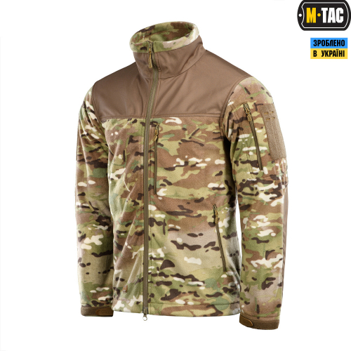 M-TAC КУРТКА ALPHA WINDBLOCK FLEECE MC