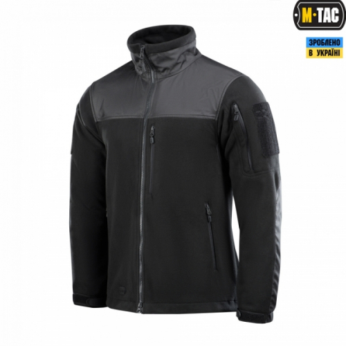 M-TAC КУРТКА ALPHA WINDBLOCK FLEECE BLACK