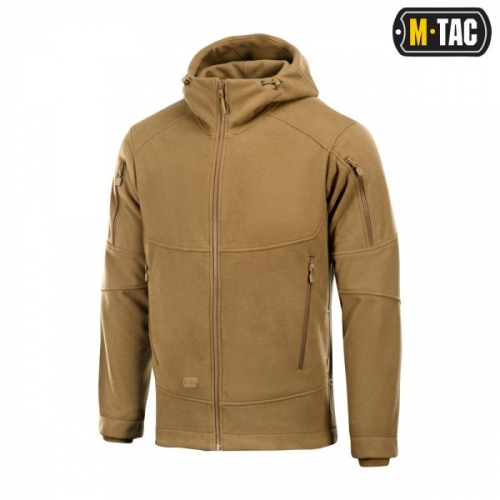 M-TAC КОФТА RIDER WINDBLOCK FLEECE DARK COYOTE