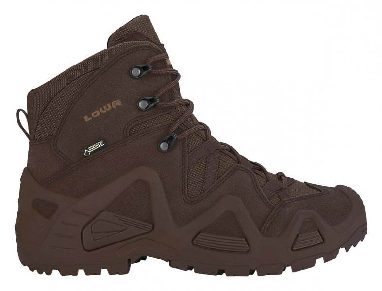 LOWA БОТИНКИ ZEPHYR GTX MID DARK BROWN 310537/0493