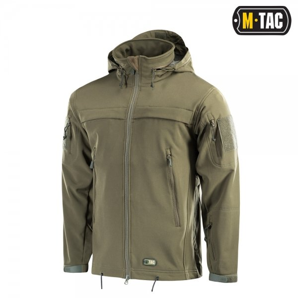 M-TAC КУРТКА SOFT SHELL POLICE OLIVE