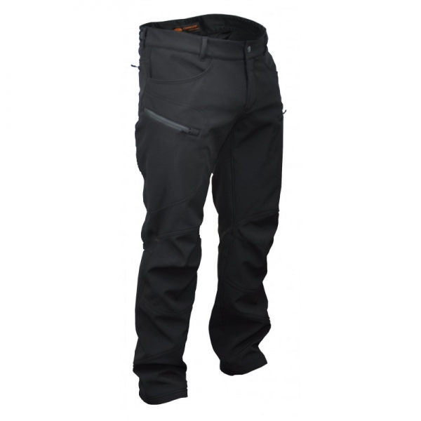 CHAMELEON БРЮКИ SOFT SHELL SPARTAN BLACK 0313-04