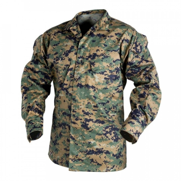 HELIKON-TEX КИТЕЛЬ USMC POLYCOTTON TWILL DIGITAL WOODLAND H41340-07