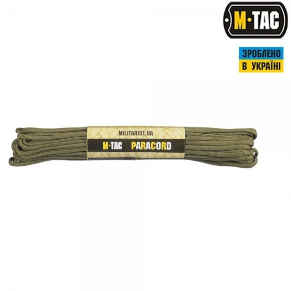 M-TAC ПАРАКОРД SURVIVAL ARMY GREEN 15М