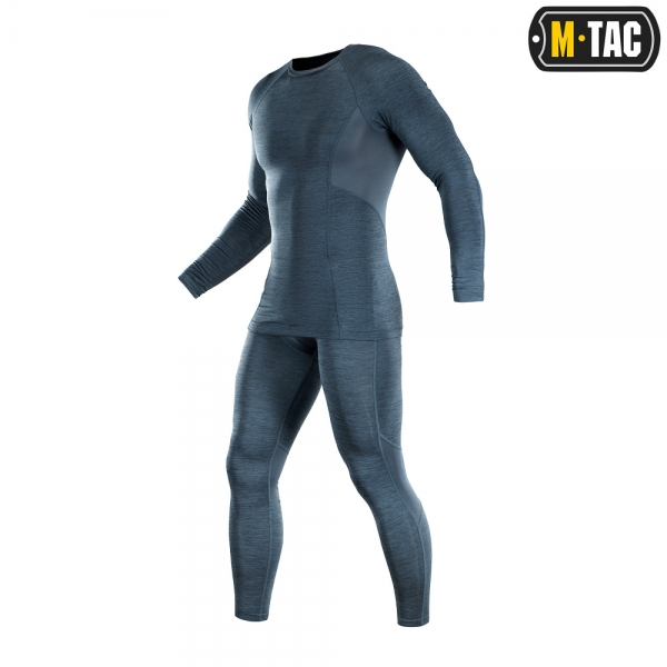 M-TAC ТЕРМОБЕЛЬЕ ACTIVE LEVEL I DARK GREY MELANGE